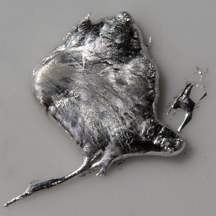 Indium is a rare earth metal used to make electrical components such as rectifiers, thermistors and photoconductors.