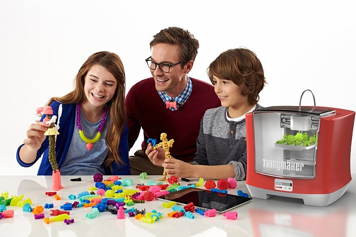 ThingMaker allows families to make anything from dolls to robots to wearable accessories. (Image source: Mattel)