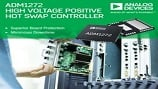 ADM1272, +48V hot swap controller and PMBus™ power monitor. Source: Analog Devices