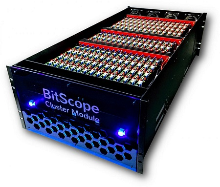 The BitScope Pi Cluster Modules system. Image credit: BitScope.