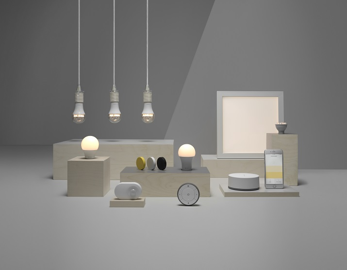 KEA is offering a smart lighting kit as well as wall-mounted and cabinet light doors. Source: IKEA