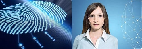 While fingerprinting and facial recognition are popular, other biometric technologies are being adopted for different uses. Source: Gemalto