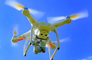 Drones weighing 250 grams or more will have to be registered moving forward. Source: U.K. Department for Transport