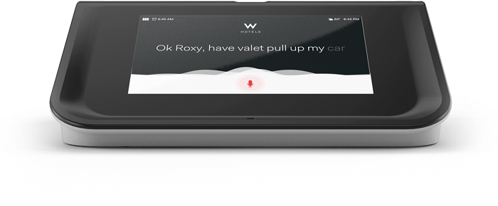 Roxy is a 24-hour concierge.