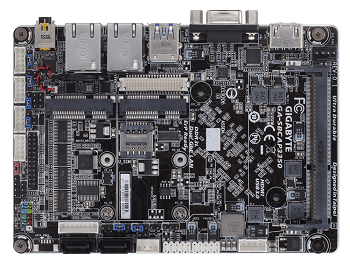 The GA-SBCAP3350 developer board. Image credit: Gigabyte