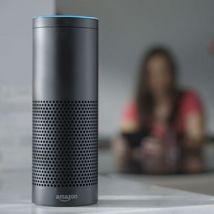 The Amazon Echo may be getting some competition in the form of Apple, which reportedly is working on a home automation assistant of its own. Source: Amazon