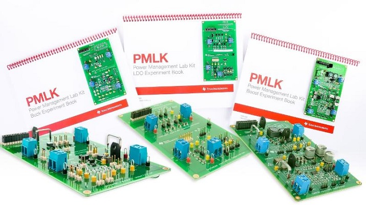 The Power Management Lab Kit series from Texas Instruments lets students and industry engineers explore and investigate about buck, boost, and linear DC/DC power supplies. Image source: Texas Instruments.