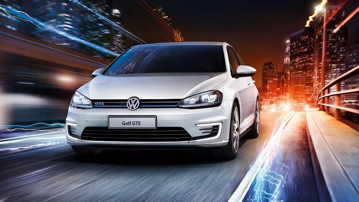 "The hybrid Golf is a current Chinese ""green"" model. (Photo: Volkswagen)"