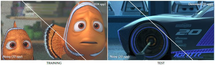 "The deep learning technology that was developed searched for and erased noise from the films ""Finding Dory"" and ""Cars 3"" (Disney, Pixar)"