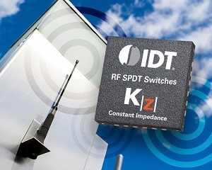 Integrated Device Technology's IDT F2923 features near-constant impedance during switching transitions. (Source: Integrated Device Technology, Inc.)