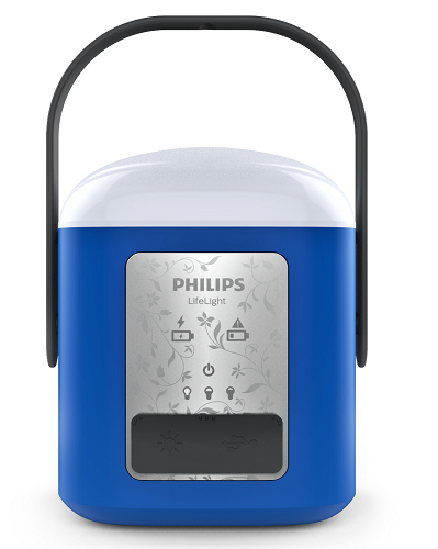 The LifeLight portable solar lantern. Source: Philips Lighting