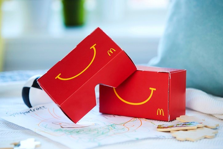 McDonald's takes its Happy Meal toys even further into the digital age.