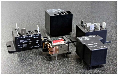 CIT Relay & Switch has launched the J115F series of high-dielectric relays featuring UL and TÜV certification. Image source: CIT Relay & Switch.