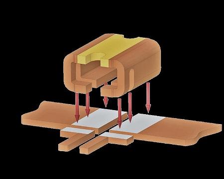 Figure 2: The BVN Surface Mount Shunt Resistor. Source: Isabellenhütte USA