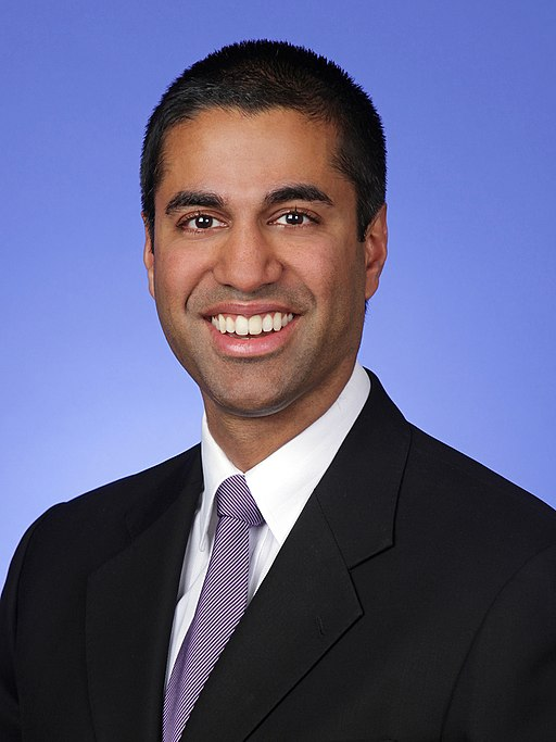 FCC Chairman Ajit Pai (Photo: WikiCommons)