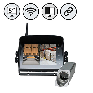 Wired and wireless backup cameras from Rear View Safety are designed to prevent forklift accidents.