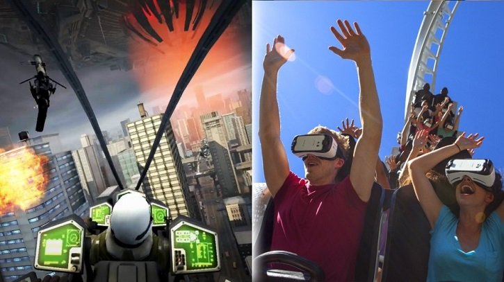 Take your coaster experience to the next level with Virtual Reality.