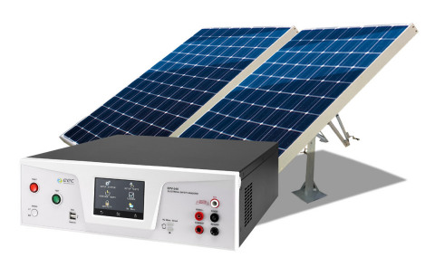 EEC EPV-500,The world's first 4-in-1 photovoltaic (PV) module safety analyzer (Image credit: Business Wire)