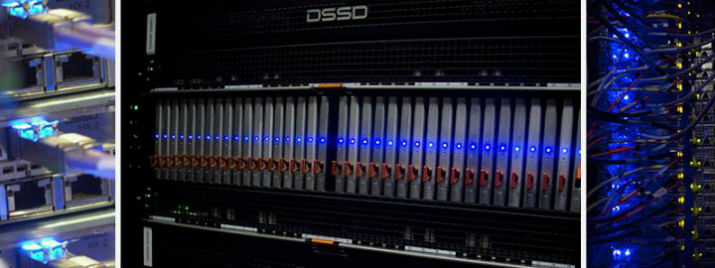 This is the Wrangler data-intensive supercomputer. (Image Credit: TACC)