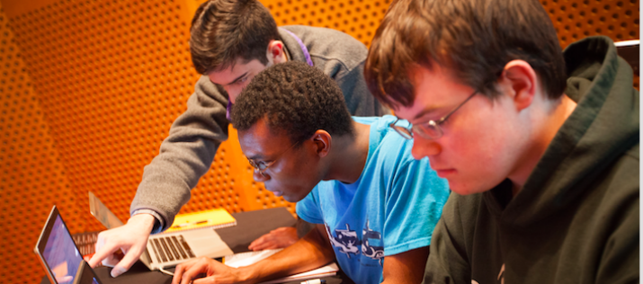 MIT and Cambridge University students participate in a variety of hackathon events earlier this month. (Image Credit: Jason Dorfman/CSAIL)