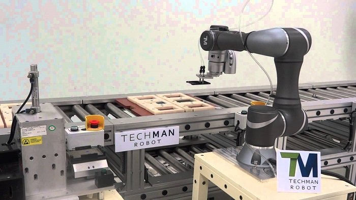 Techman Robot Ready For International Robot Exhibition