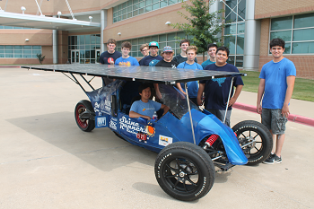 Mouser is sponsoring the Ben Barber Career Tech Academy solar racing team as they compete in the 2015 Solar Car Challenge at Texas Motor Speedway July 18-23.