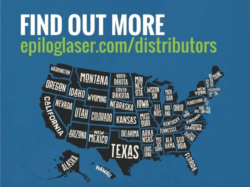 Figure 4: Epilog has product distributors in every state. Source: Epilog Laser
