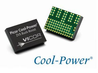 New 60 V Cool-Power ZVS buck-boost regulators deliver up to 200 W at > 97% efficiency. (Image credit: Vicor Corp.)