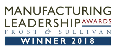 Protolabs was chosen as a recipient of a Frost & Sullivan Manufacturing Leadership Award for its continuous improvement initiative. Source: Frost & Sullivan