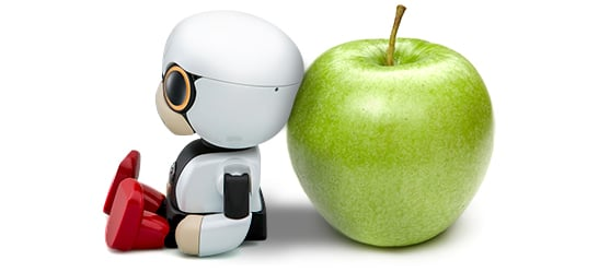 "Kirobo's name means, literally, ""hope robot."" Image: Toyota Motor Corp."