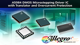 Allegro's A5984 DMOS microstepping driver. (Source: Allegro Microsystems)