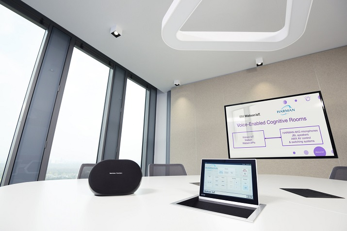 IBM Watson and Harman have created an in-room cognitive connected environment for hospitality and medical facilities. Image credit: Harman
