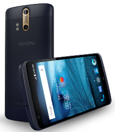 ZTEs Axon smartphone will be offered in a version with Cornings Antimicrobial Gorilla Glass. Source: ZTE