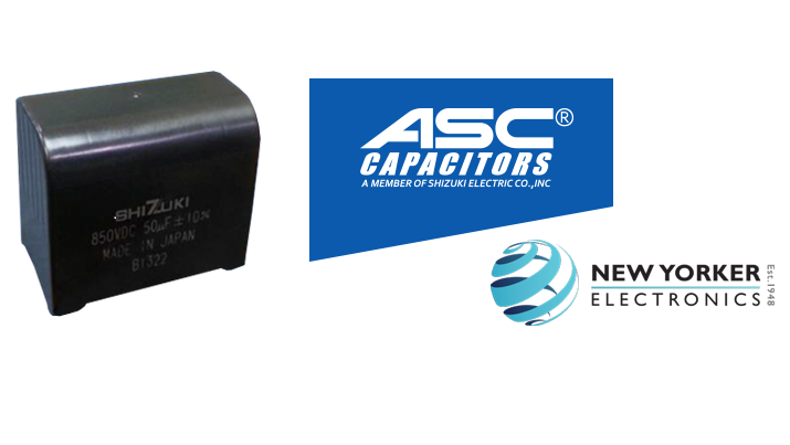 The new MEC-DL line of film capacitors is now available. Source: New Yorker Electronics