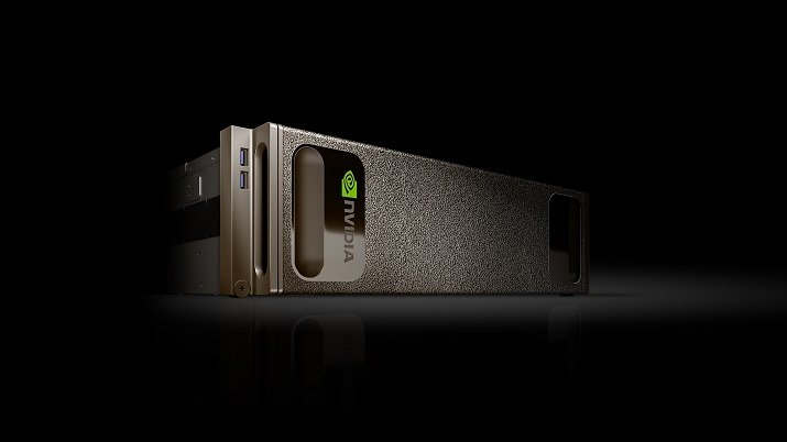 The Nvidia DGX-1 supercomputer offers the performance of 250 CPU-based servers in one single box. Source: Nvidia