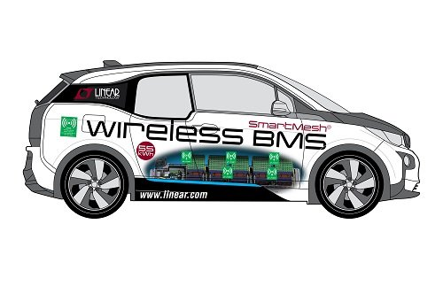 BMW i3 Wireless BMS Concept Car. Source: Linear Technology