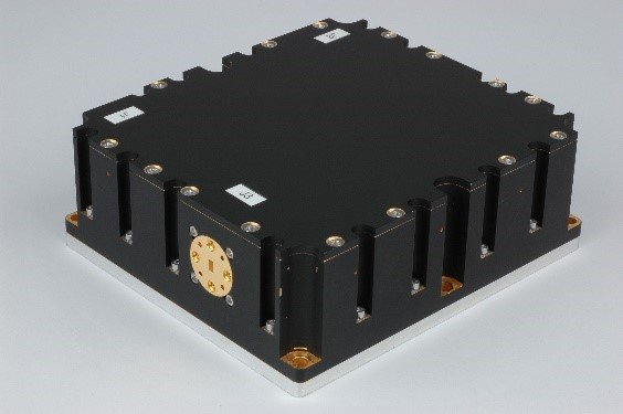 V-band (58GHz) SSPA for space communications. Source: QuinStar Technology, Inc.