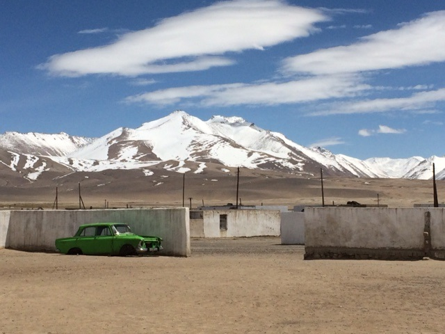Connectivity is still a science fiction idea on the Pamirs plateau.