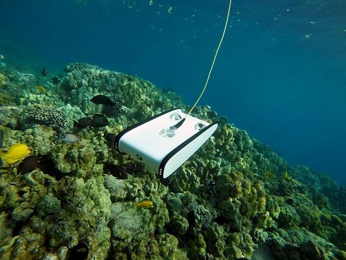 The Trident drone in action in Hawaii. Source: OpenROV