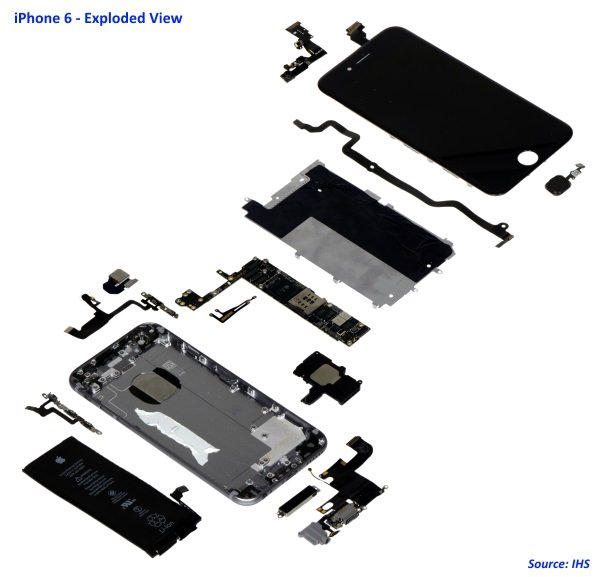Exclusive Video Teardown  Apple Iphone 6