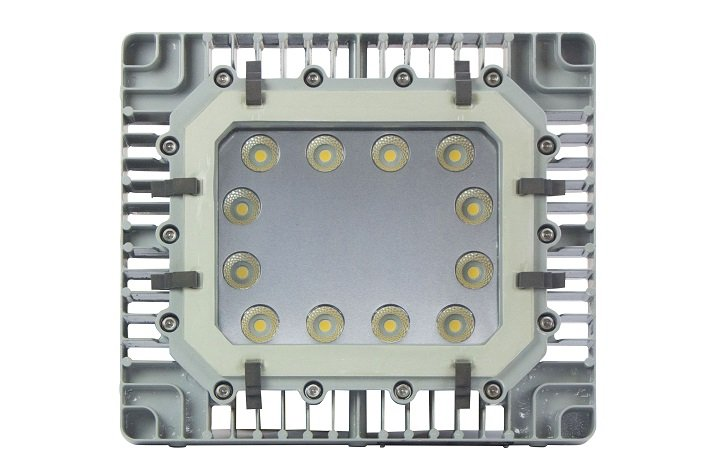 The EPL-HB-150LED-RF-NSF explosion proof high bay LED. Image credit: Larson Electronics