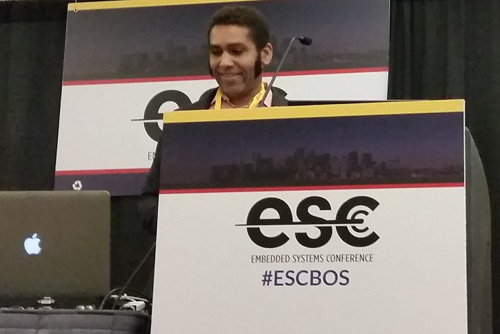 Kipp Bradford used ESC Boston to discuss how Frictionless  Frameworks are one of the key learnings from the Maker Movement, and are  critical to enabling the next generation of engineers and designers.