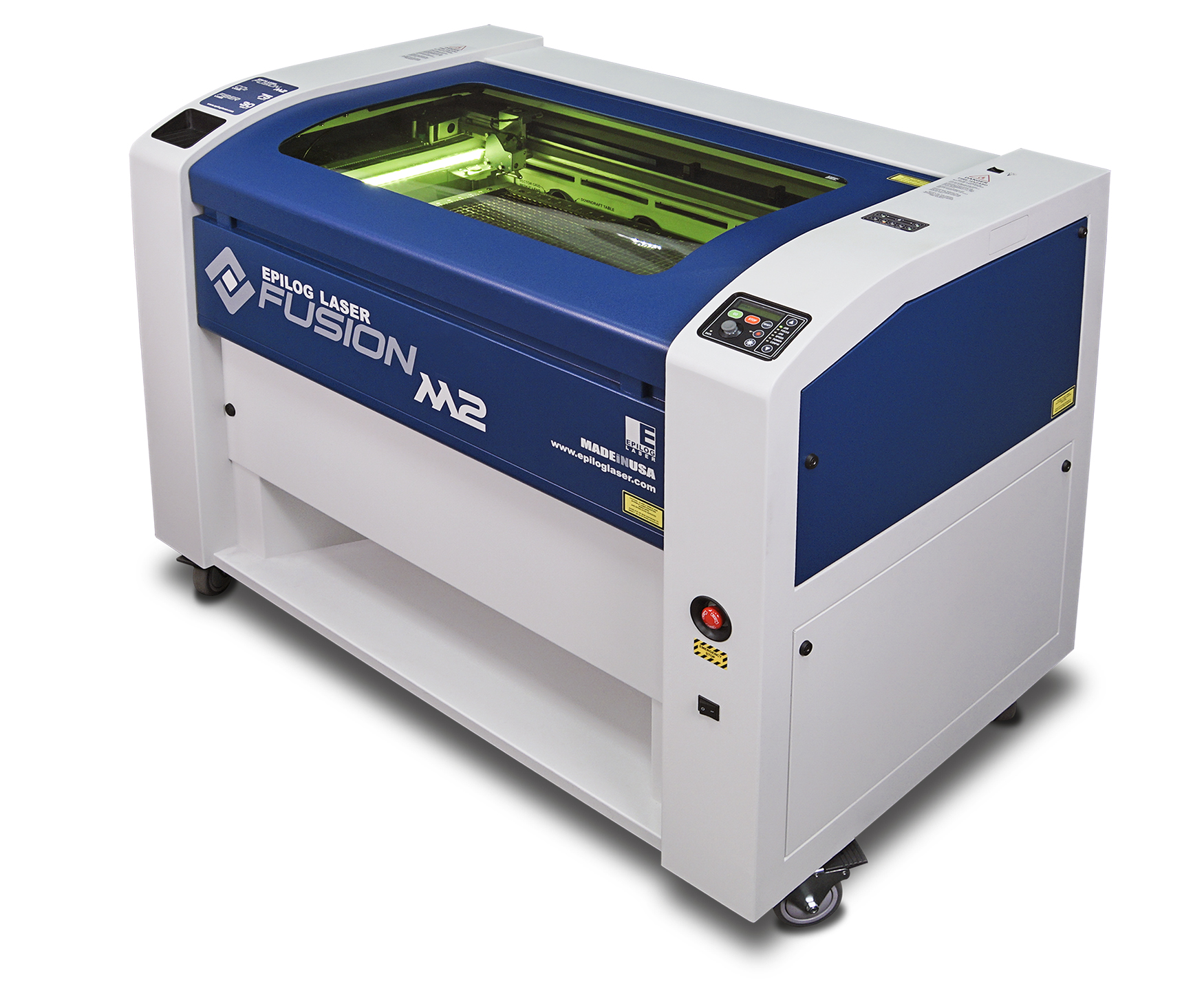 CO2/fiber dual-source engraving and cutting system. Source: Epilog Laser