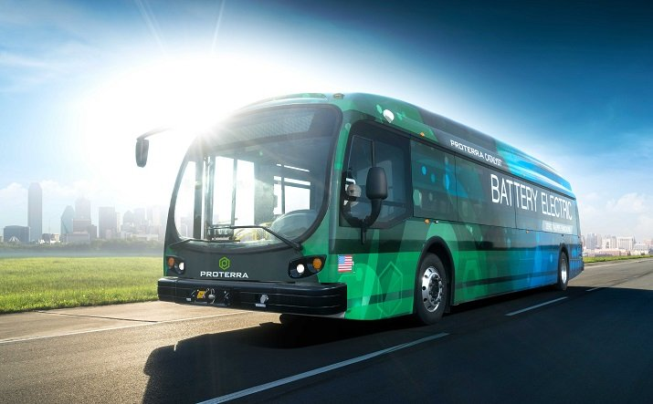 Proterra's new electric bus was recently released to take advantage of cost savings. Image credit: Proterra