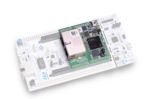 The I-NUCLEO-NETX expansion board. Image credit: STMicroelectronics