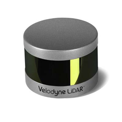 Targeting the unmanned aerial vehicle (UAV) market—where every gram counts—Velodyne LiDAR's new 16-channel Puck LITE weighs in at just 590 grams. Image source: Velodyne LiDAR