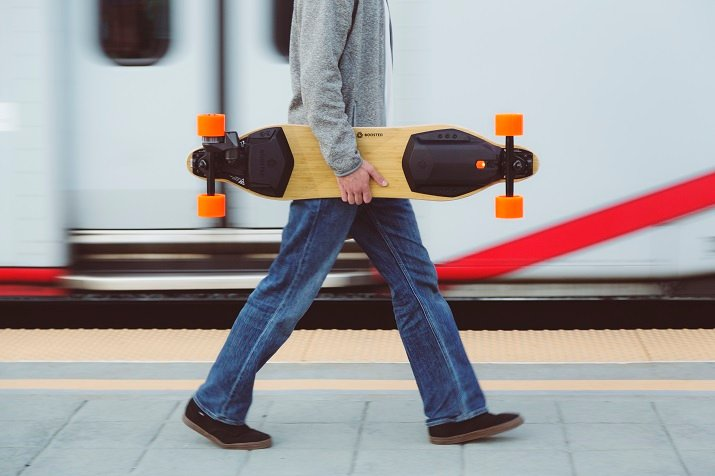 The electric skateboards from Boosted have had two incidents where the lithium-ion batteries vented into the battery pack, resulting in extreme heat. Source: Boosted