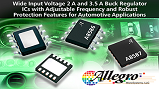 Allegro's A8586 and A8587 step-down DC/DC buck regulators. Source: Allegro Microsystems