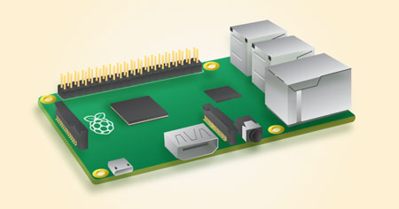 Raspberry Pi 2. Image credit: The Raspberry Pi Foundation