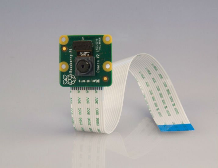 First Image: Raspberry_Pi_Camera Upgraded visible light camera. (Image via Raspberry Pi)